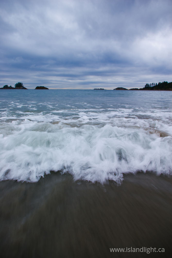 Seascape photo from  Calvert Island,  Canada.