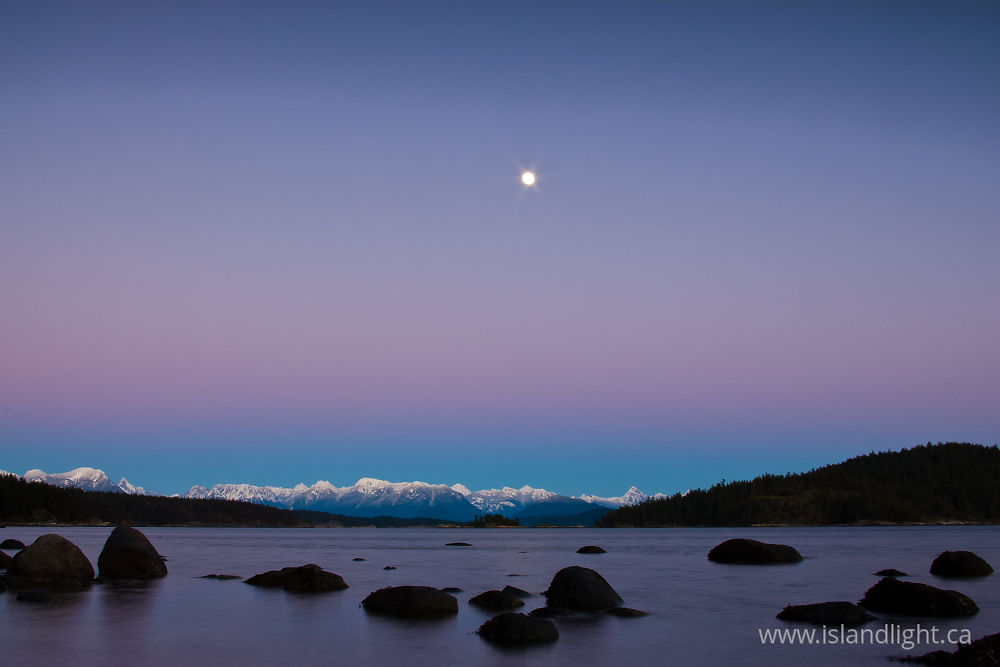 Landscape photo from  Desolation Sound, BC Canada.