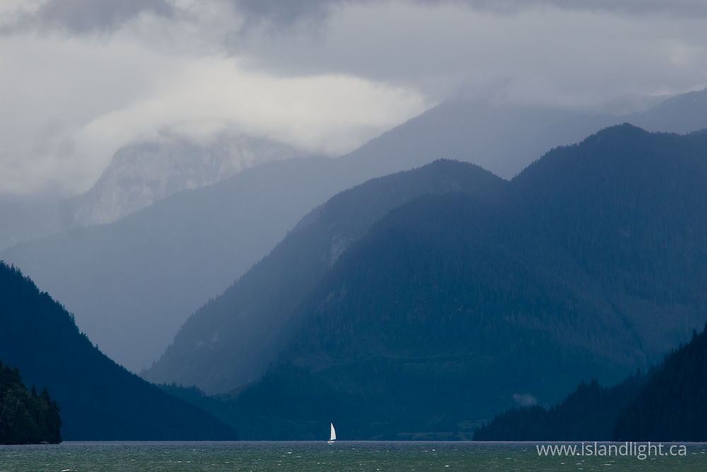 Boating photo from  Knight Inlet, BC Canada.