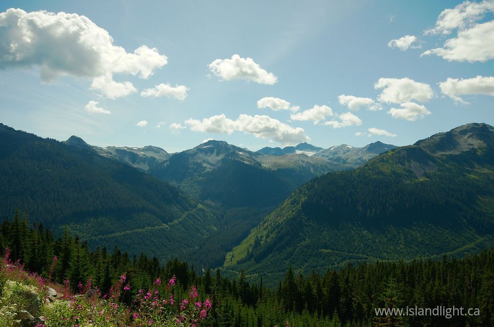 Landscape  photo from  Pacific Ranges, British Columbia Canada.