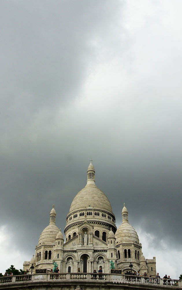 Architecture  photo from Montmartre Paris,  France.