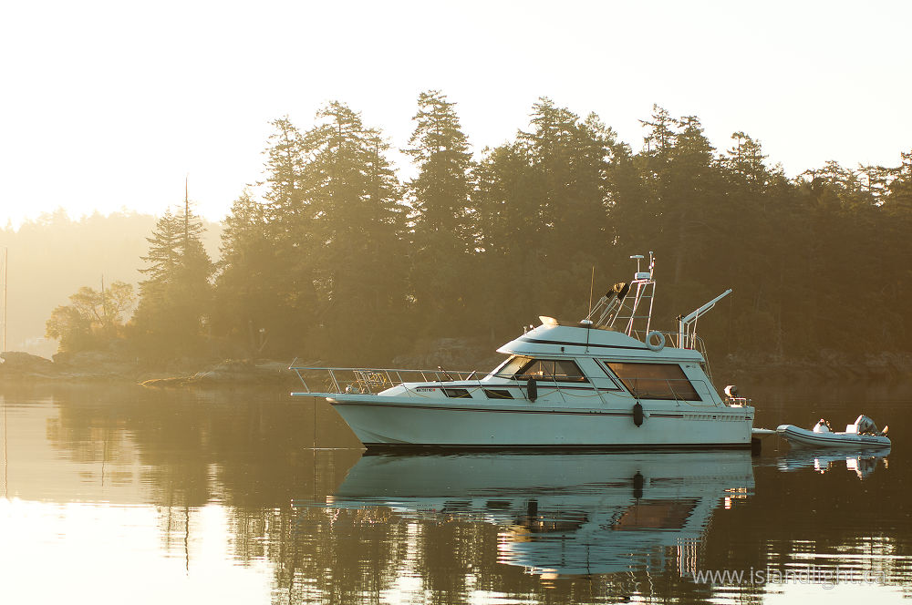 Boating  photo from Ganges Harbour Saltspring Island, BC Canada.