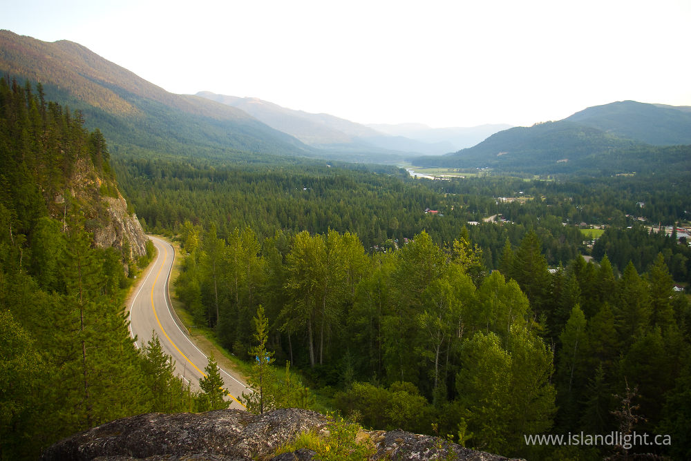 Landscape  photo from  Slocan Valley, BC Canada.