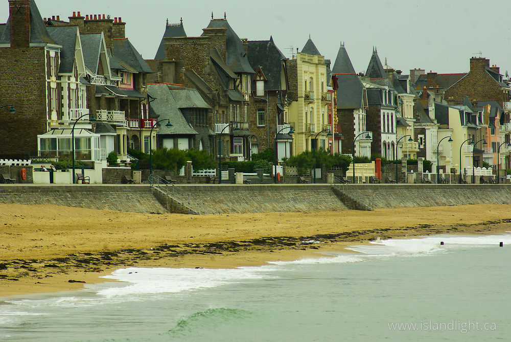 Cityscape  photo from  St. Malo, Bretagne France.