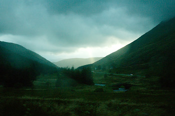 Stormy day on the Moor ~ Landscape  picture from  Scotland.