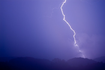 A Message from Thor ~ Lightening  picture from Aillevillers France.