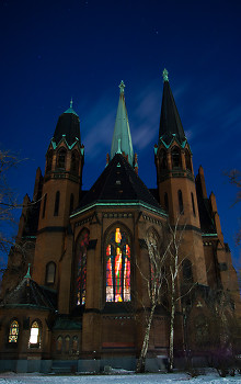 Church picture from Berlin Germany.