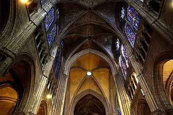 Chartres No. 5 ~ Cathedral picture from Chartres France.