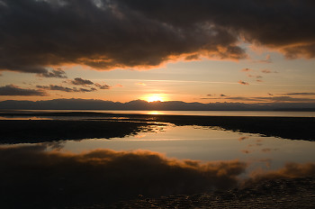 Reflection picture from Cortes Island Canada.