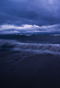 Portrait of a South East Gale ~ Seascape  picture from Cortes Island Canada.