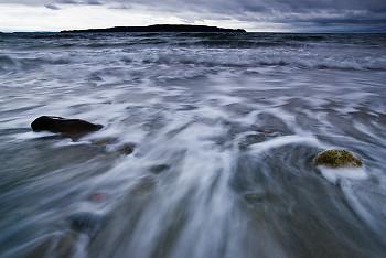 Storm Surge ~ Seashore picture from Cortes Island Canada.