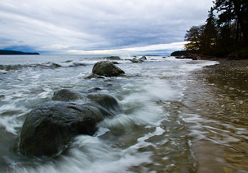 Storm picture from Cortes Island Canada.
