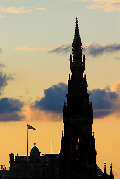 Architecture picture from Edinburgh Scotland.