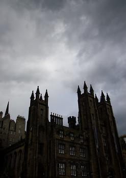 Castle picture from Edinburgh Scotland.