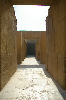 Ancient Egyptian Temple picture from Giza Egypt.