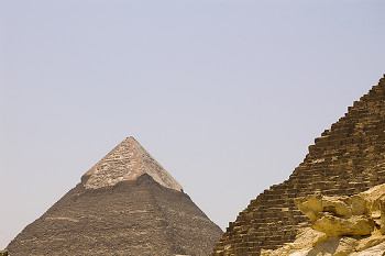 Pyramid of Khafre ~ Pyramid picture from Giza Egypt.