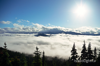 The View from the Top ~ Landscape  picture from Mount Washington Canada.