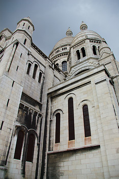 Sacre Coeur ~ Cathedral picture from Paris France.