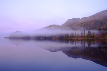 Predawn in Port Neville ~ Landscape  picture from Port Neville Canada.