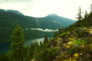 Slocan Lake ~ Wilderness picture from Slocan Valley Canada.