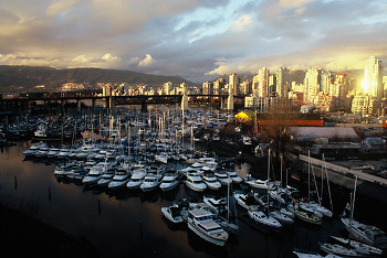 False Creek Marina ~ Marina picture from Vancouver Canada.