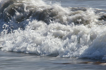 Braking Wave ~ Water picture from Cortes Island Canada.