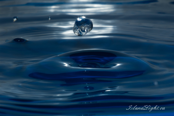 Levitation -  Droplet photo