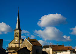 Aillevillers on a Sunny Afternoon ~ Church picture from Aillevillers France.