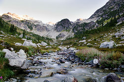 Alpine creek - Brandywine Meadows Alpine creek photo