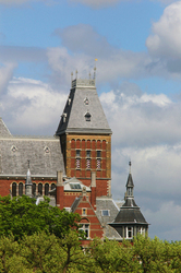 Rijksmuseum ~ Architecture  picture from Amsterdam Netherlands.