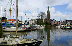Marina in the City ~ Marina picture from Amsterdam Netherlands.
