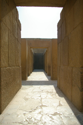 Giza Ancient Egyptian Temple photo