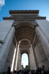 Arc de Triomphe ~ Architecture  picture from Paris France.