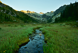 Looking Up The Brandywine ~ Alpine Meadow picture from Brandywine Valley Canada.