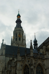 Cathedral in Breda ~ Church picture from Breda Netherlands.