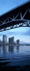 Granville Bridge panorama - Vancouver Bridge photo