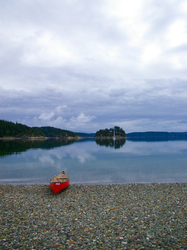 The Red Canoe - Marina Island Canoe photo