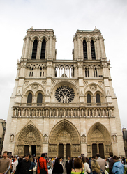 Notre dame - Paris Cathedral photo