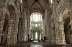 Mont Saint Michel  - Mont St. Michel  Cathedral photo