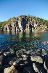 The Entrance to Gorge Harbour ~ Seascape  picture from Cortes Island Canada.