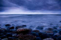 Storm Surge,   ~ Seascape  picture from Cortes Island Canada.