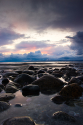 Thanksgiving Day ~ Seascape  picture from Cortes Island Canada.