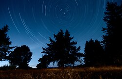 North Star II ~ Star picture from Cortes Island Canada.