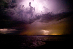 Power II ~ Lightening picture from Discovery Islands Canada.