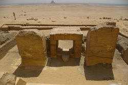 Saqqara Egyptian Temple Ruins photo