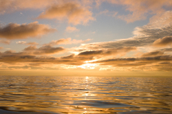 Salt Water Sunset  -  Nature photo