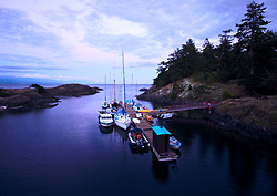 Squitty Bay  - Lasqueti Island Harbour photo