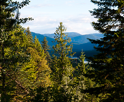 View south down the Slocan Valley - Slocan Valley  photo