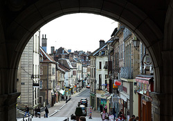 Luxeuil Archway ~ Cityscape picture from Luxeuil France.