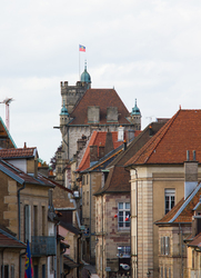 Cityscape picture from Luxeuil France.